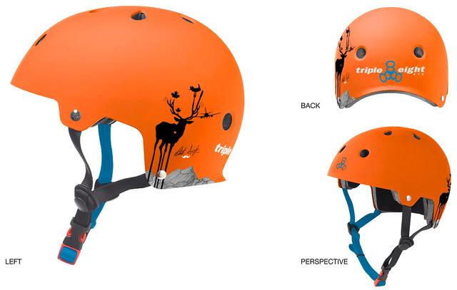 GP Triple 8 Helmet Patrick Switzer