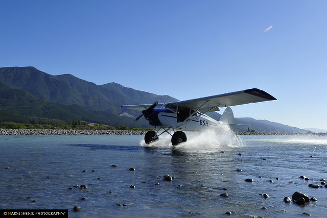 Landing on Wairau River