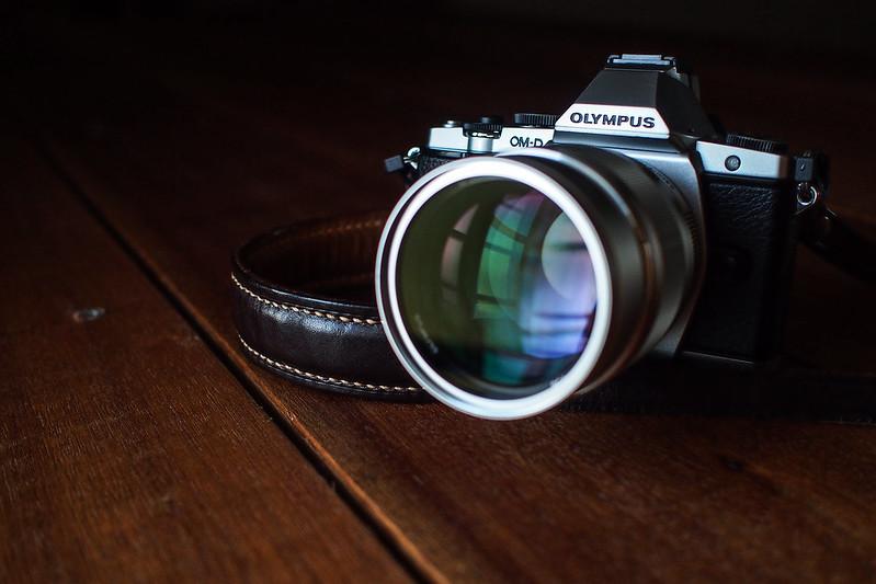 Olympus OM-D & 75mm f/1.8