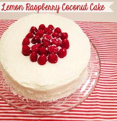 lemon rasp cake