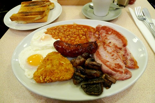 Little Portland Cafe, Fitzrovia, London