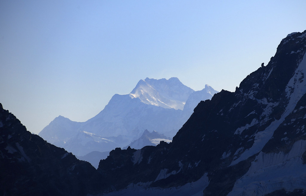 Kangchenjunga Southwest Face (8586 m) and Jannu