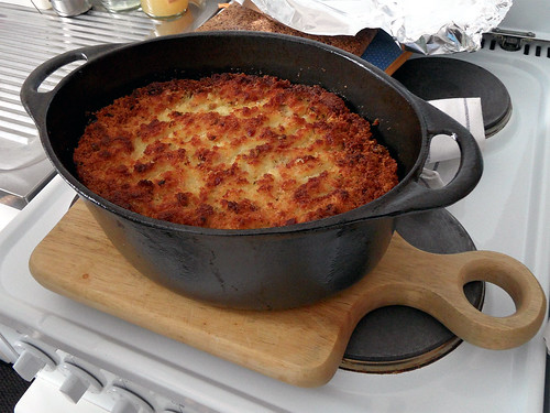 Traditional South African Potato Pudding Recipe photo by onnola