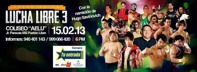 """LWA """"Reyes de la Lucha Libre III"""" Resultados (15 Febrero 2013) KENTA y Super Crazy avanzan a las semifinales 1"""