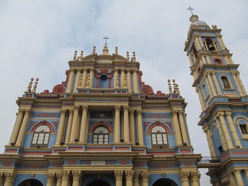 Salta: une autre église kitsch