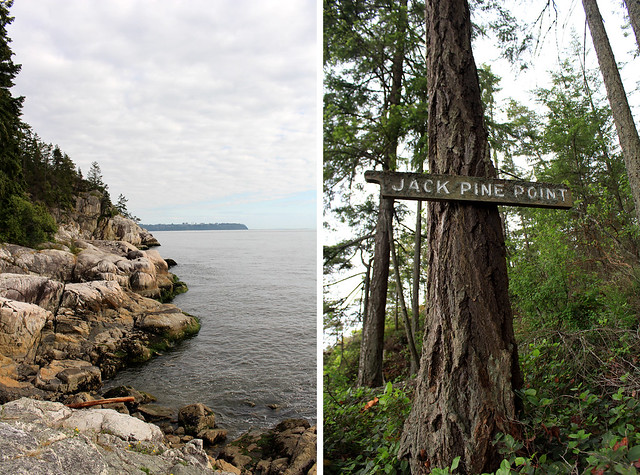West Vancouver Lighthouse Jack Pine Point