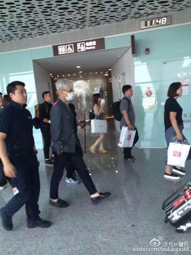 BIGBANG lArrival Shenzhen from Seoul 2015-08-07 032