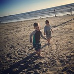 Archer and Leo had a blast on the beach today! by bartlewife