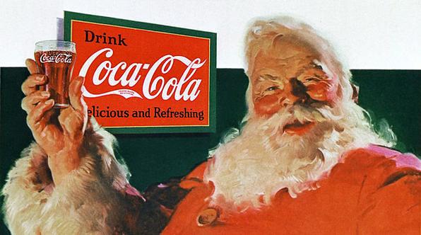 Santa Claus Coca-Cola