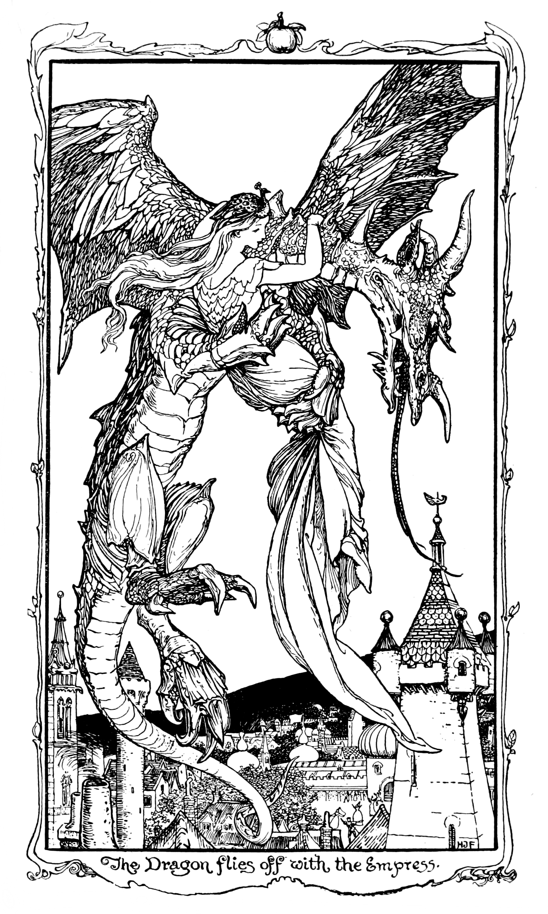 Henry Justice Ford - The violet fairy book, edited by Andrew Lang, 1906 (illustration 4)
