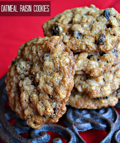 Oatmeal Raisins Cookies-1