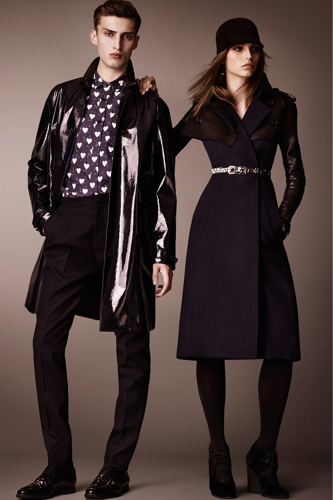Charlie France0302_Burberry Prorsum's Pre-Fall 2013 Collection(Homme Model)
