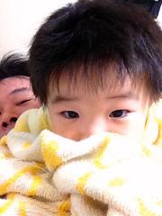 寝る前の様子 2012/12/12