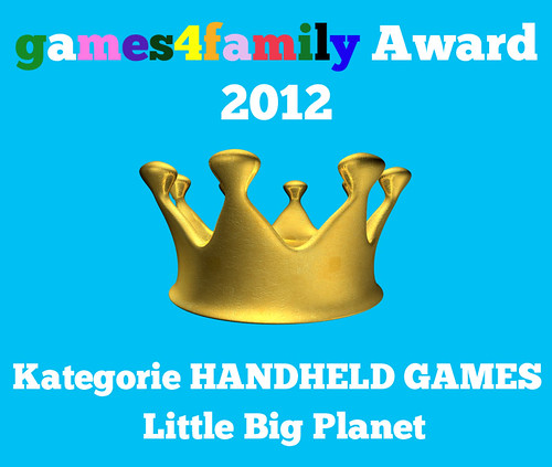 games4family award 2012 - Little Big Planet