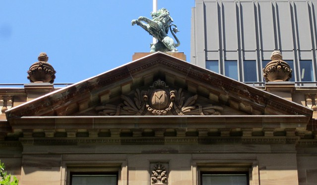 Hidden away above William Street