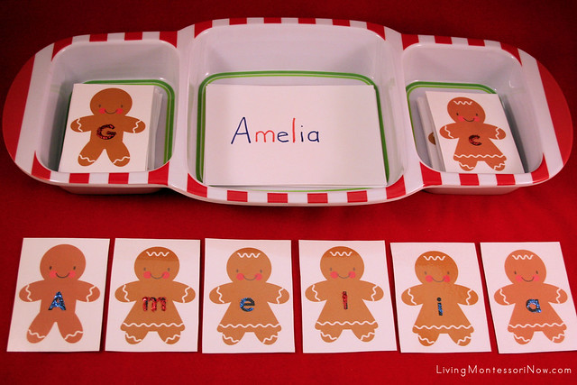 Gingerbread Babies Name Activity