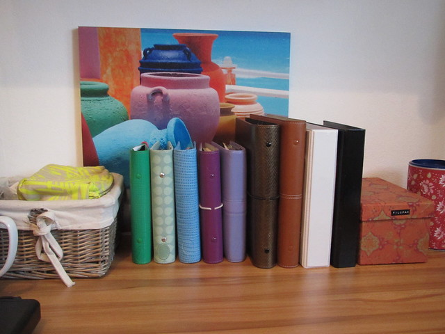 my filofax collection