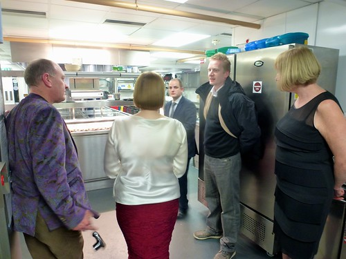 Tour of the kitchen with Toby Stuart, Head Chef