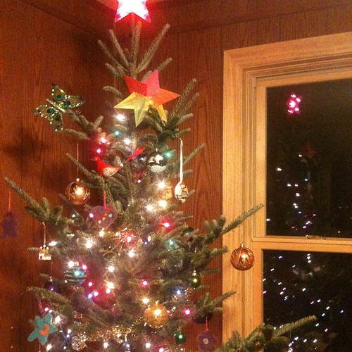 The red star at the top is mandatory. Merry Christmas, Comrade Santa.