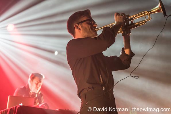 Parov Stelar Trio @ Regency Ballroom, SF 12/15/12