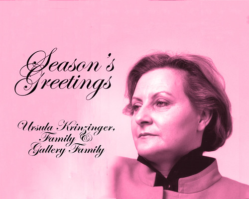 Season's Greetings from an Egomaniac, Ursula Krinzinger