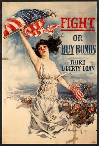 001-Fight or buy bonds  Third Liberty Loan-1917-Howard Chandler Christy - UNT Digital Library