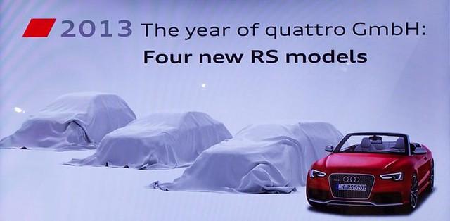 Audi RS 2013