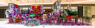 """""""Happiness is an inside job"""" by Olek / pano-003-SML.20121218.7D.19808-SML.20121218.7D.19821"""