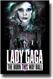 Lady Gaga Poster – 2013 Born this Way Ball Tour  - Poster available for sale at ConcertPoster.Org full link below