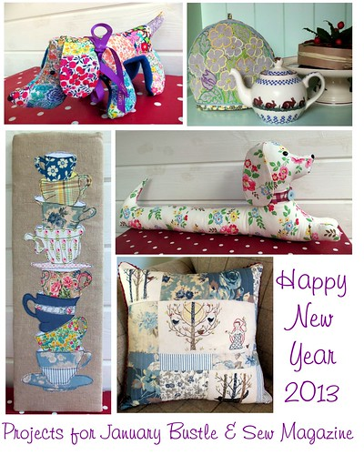 Bustle & Sew Magazine: January 2013