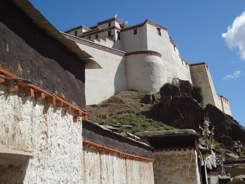 Cidade de Shigatse Tibete