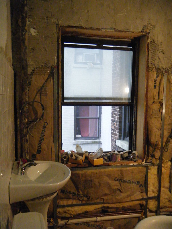 Bathroom window start state