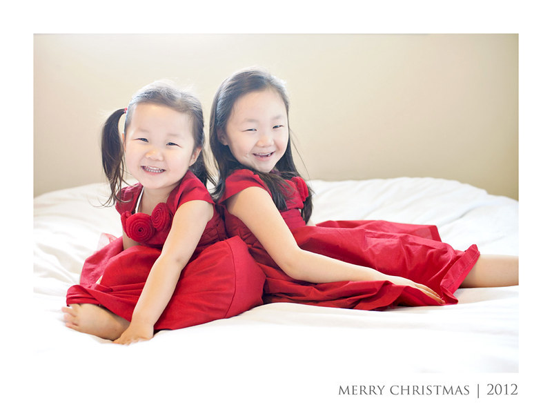 The Girls in Xmas Dresses 2012 WM