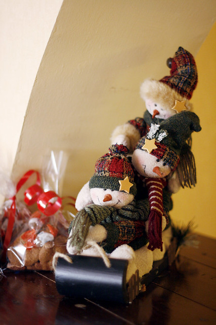 Cute snowmen home decor