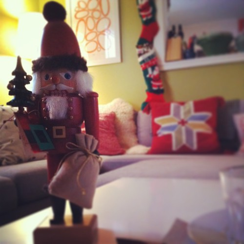 Adam has a nutcracker collection #yule #deckthehalls