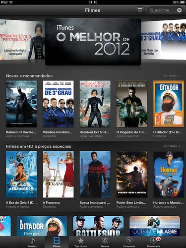 iTunes Filmes by Rogsil