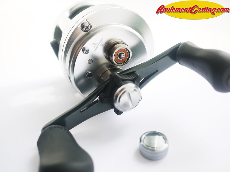 Shimano Calcutta 201D Orange seals BocaBearings 17