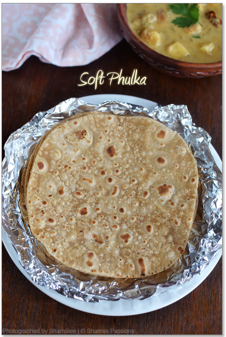 How to make phulka(pulka)