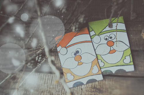 Father Frost card