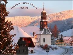 HAPPY NEW YEAR ... Viel Glück im neuen Jahr ... Es guets Nöis!