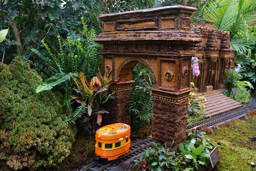 Washington Square Park Arch at the New York Botanical Gardens Holiday Train Show