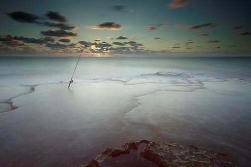longexposure sunset seascape beach water fisherman day cloudy sony hitech tokina1116mmf28 mygearandme sonya55 hitechprostop10nd
