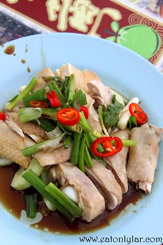 Bean Sprouts Chicken, Restoran Tauge Ayam Lou Wong