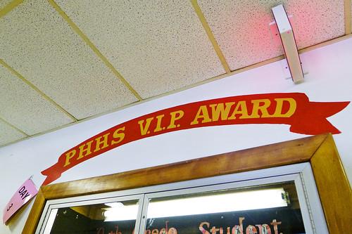 PHHS VIP Award.