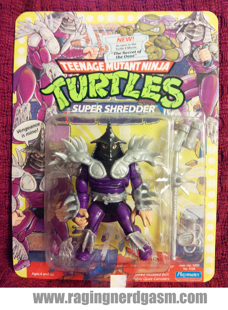 1991 TNMT Super Shredder by Playmates