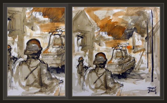 WEHRMACHT-WW2-SEGUNDA GUERRA MUNDIAL-ART-ARTE-BATALLAS-PINTURA ...