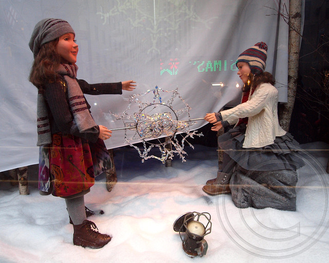 Saks Fifth Avenue 2012 Holiday Window, Manhattan, New York City