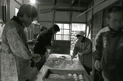 もちつき  rice-cake making