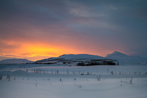 snow sunrise iceland ísland 2012 akureyri eyjafjörður súlur riverman armann pwwinter