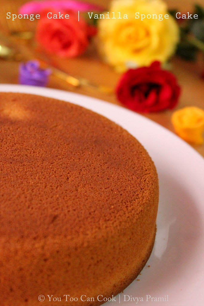 What Temperature Do I Cook A Inch Sponge Cake